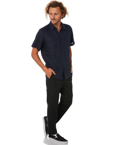 NAVY MENS CLOTHING MR SIMPLE SHIRTS - M-04-33-04NVY