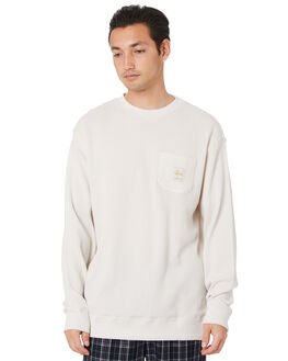 WHITE SAND MENS CLOTHING STUSSY JUMPERS - ST007110WTSND