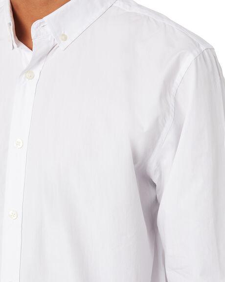 WHITE MENS CLOTHING ACADEMY BRAND SHIRTS - BA800WHT