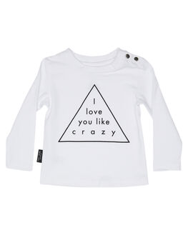WHITE KIDS BABY TINY TRIBE CLOTHING - TTF19-11100AWHT