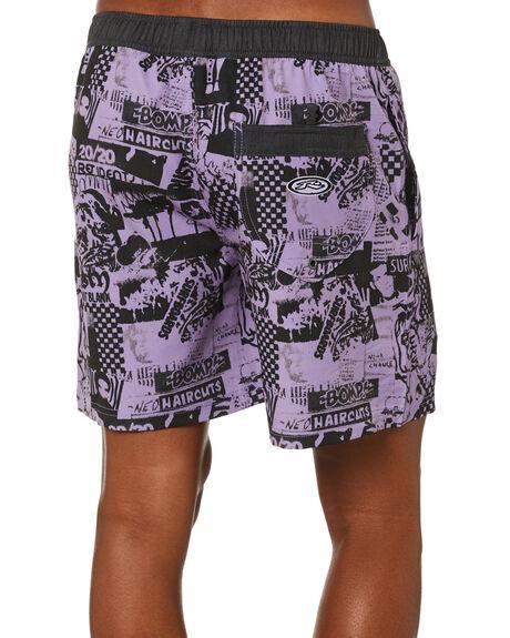 POWDER PURPLE MENS CLOTHING RUSTY BOARDSHORTS - BSM1508PWP