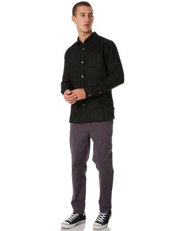 BLACK MENS CLOTHING SWELL SHIRTS - S5184180BLACK