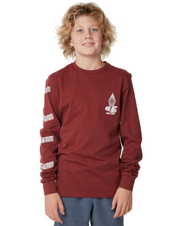 CRIMSON KIDS BOYS VOLCOM TEES - C3611872CMS