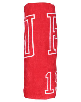 RED WOMENS ACCESSORIES HUFFER TOWELS - AC84J5601RED