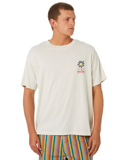 DIRTY WHITE MENS CLOTHING THE CRITICAL SLIDE SOCIETY TEES - TE18188DWHT