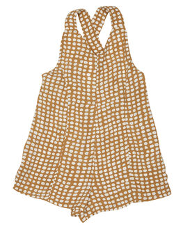 GOLD KIDS GIRLS RIP CURL DRESSES + PLAYSUITS - FDRAZ10146
