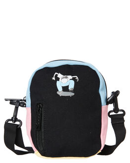 BLACK MENS ACCESSORIES THE BUMBAG CO BAGS + BACKPACKS - CO051BLK