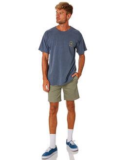 WORN NAVY MENS CLOTHING THE SALTY MERCHANTS TEES - TSM-CV-WRNVY