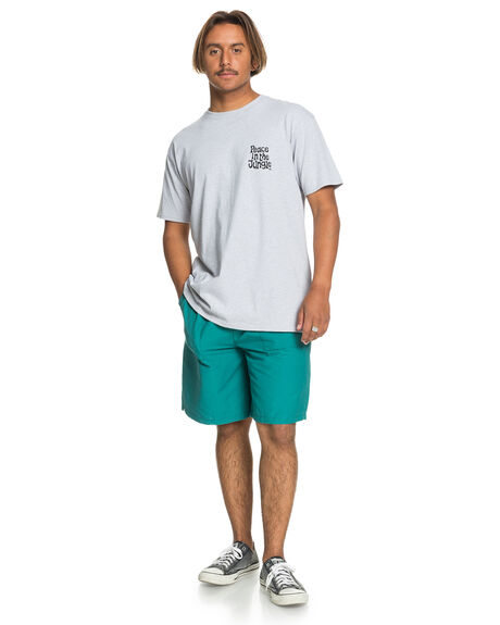 TEAL GREEN MENS CLOTHING QUIKSILVER SHORTS - EQYWS03697-BSJ0