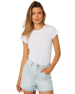 WHITE WOMENS CLOTHING BILLABONG TEES - 6581144WHT