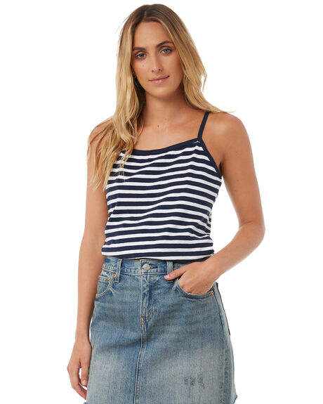 STRIPE WOMENS CLOTHING SWELL SINGLETS - S8174271STP