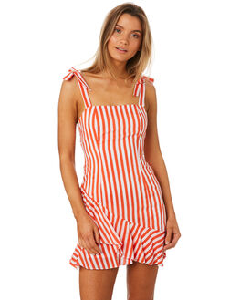 RED STRIPE WOMENS CLOTHING MLM LABEL DRESSES - MLM420CRSTR