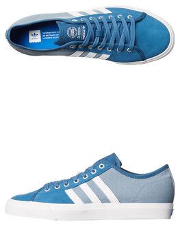 BLUE WHITE MENS FOOTWEAR ADIDAS ORIGINALS SKATE SHOES - BB8605BLU