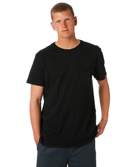BLACK MENS CLOTHING SWELL TEES - S5164006BLK
