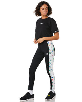 BLACK WOMENS CLOTHING ADIDAS ACTIVEWEAR - ED4758BLK