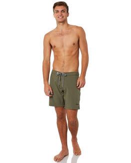 VINTAGE OLIVE MENS CLOTHING RHYTHM BOARDSHORTS - JUL18M-TR06OLI