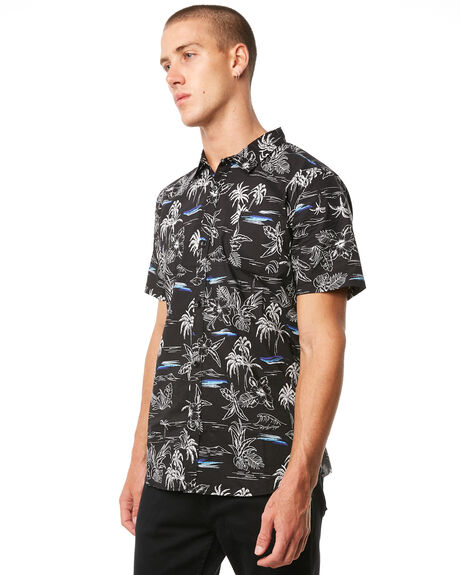 BLACK OUTLET MENS SWELL SHIRTS - S5184170BLACK