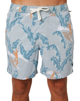 MIST BLUE MENS CLOTHING THE CRITICAL SLIDE SOCIETY BOARDSHORTS - BS1889MIST