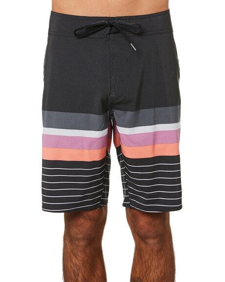 BLACK MENS CLOTHING VOLCOM BOARDSHORTS - A0812119BLK