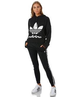BLACK WOMENS CLOTHING ADIDAS ACTIVEWEAR - EC1874BLK