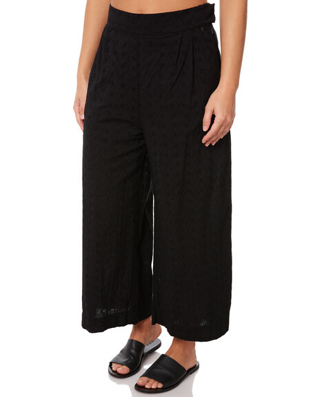 BLACK WOMENS CLOTHING RUSTY PANTS - PAL1055BLK