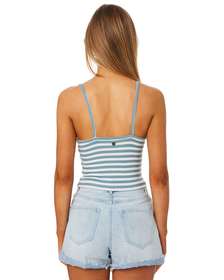 SEA GREEN OUTLET WOMENS ALL ABOUT EVE SINGLETS - 6405041GRN