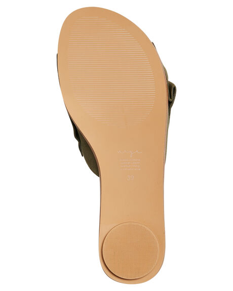 OLIVE WOMENS FOOTWEAR URGE FASHION SANDALS - URG17071OLI