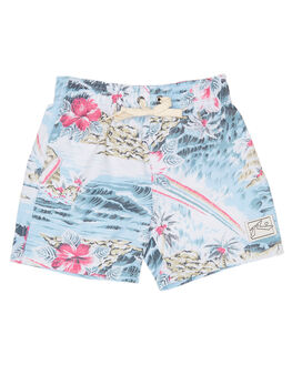 SEA BLUE KIDS BOYS RUSTY BOARDSHORTS - BSR0243SEA
