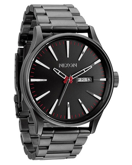 nixon the sentry ss watch gunmetal surfstitch. Black Bedroom Furniture Sets. Home Design Ideas