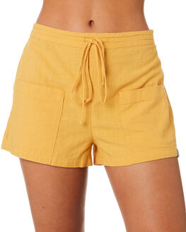 MUSTARD WOMENS CLOTHING RHYTHM SHORTS - JUL19W-WS01MTRD