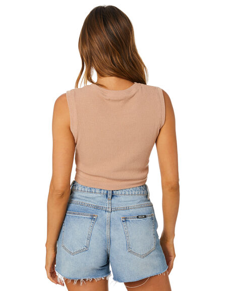 BROWN OUTLET WOMENS TOBY HEART GINGER SINGLETS - T1543TBRN