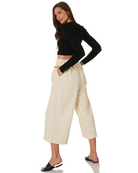 ANTIQUE WHITE WOMENS CLOTHING BILLABONG PANTS - 6596402WHI