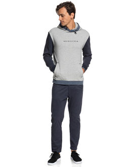 LIGHT GREY HEATHER MENS CLOTHING QUIKSILVER JUMPERS - EQYFT03914SJSH