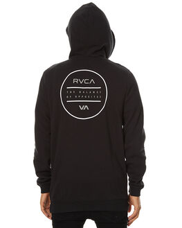 BLACK MENS CLOTHING RVCA JUMPERS - R174156BLK