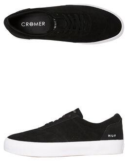 46496e0c1c56b BLACK MENS FOOTWEAR HUF SNEAKERS - VC00079-BLK