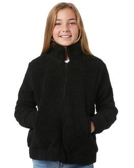 BLACK KIDS GIRLS EVES SISTER JUMPERS + JACKETS - 9531010BLK