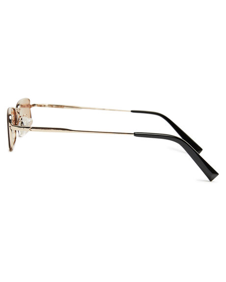 SHINNY LIGHT GOLD WOMENS ACCESSORIES KENDALL AND KYLIE SUNGLASSES - KK4035G-718SLGLD