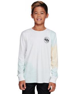 WHITE KIDS BOYS QUIKSILVER TOPS - EQBZT04015-WBB0