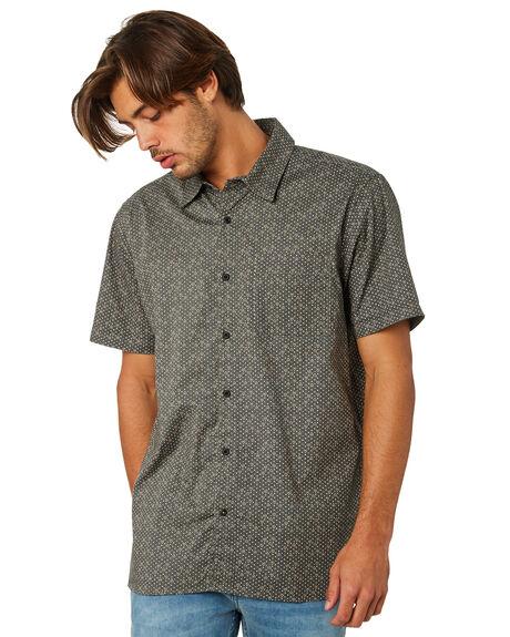 MEDIUM OLIVE MENS CLOTHING HURLEY SHIRTS - AR0815222