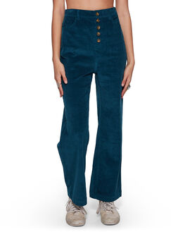 ORION BLUE WOMENS CLOTHING BILLABONG PANTS - BB-6507405-ION