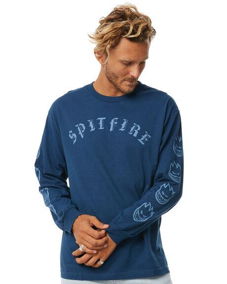 BLUE MENS CLOTHING SPITFIRE TEES - OLDEBLUE