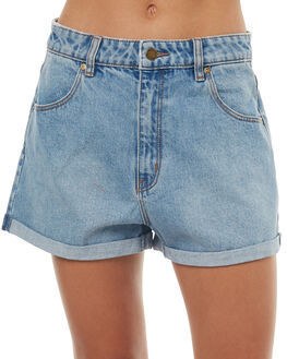 OUTBACK BLUE WOMENS CLOTHING ROLLAS SHORTS - 123973199