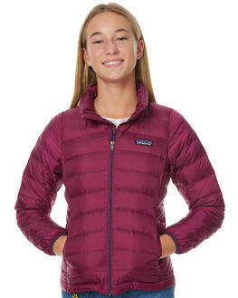 VIOLET RED KIDS GIRLS PATAGONIA JACKETS - 68232VIO