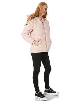 DUSKY PINK WOMENS CLOTHING HUFFER JACKETS - WPJA02S1801DPNK