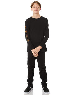 BLACK KIDS BOYS SWELL TEES - S3184106BLACK