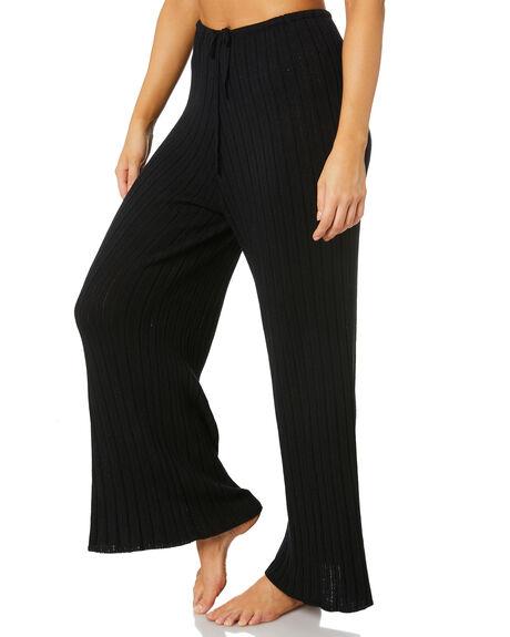 BLACK WOMENS CLOTHING SNDYS PANTS - SEP027BLK