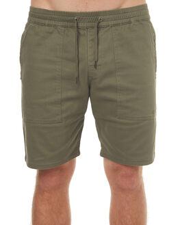 BURNT OLIVE MENS CLOTHING RVCA SHORTS - R161322BUOLI