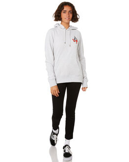 LIGHT GREY WOMENS CLOTHING VOLCOM JUMPERS - B3141803LGR