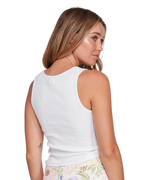 WHITE WOMENS CLOTHING BILLABONG SINGLETS - BB-6504096-WHT