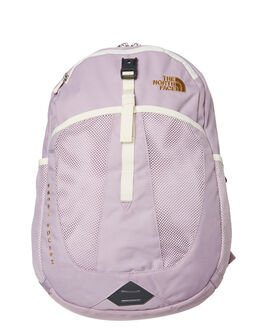 ASH PURPLE VIN WHITE KIDS GIRLS THE NORTH FACE BAGS + BACKPACKS - NF0A3G9EFC1PRWHT